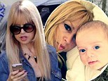 He has his mother's eyes! Rachel Zoe, 42, shares adorable photo snuggling with three-month-old son Kai