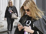 Out and about: Mischa Barton appeared to be embracing a slightly fuller figure as she headed out for the day in New York