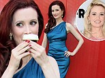 Red hair, don't care! Holly Madison showed off her deep red locks as she celebrated the Sprinkles Cupcakes grand opening at the LINQ in Las Vegas on Friday