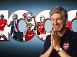 Arsene Wenger's 1,000th game