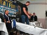 It's on: The rematch is a final eliminator to challenge WBO champion Wladimir Klitschk