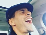No diggity: Rio Ferdinand posted a video of him singing along to Blackstreet's 'No Diggity'
