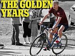 On his bike: Arsene Wenger Golden Years special