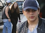 Dinner date: Prince Jackson treated his new girlfriend Nikita Bess in Beverly Hills