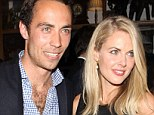 Mid-Air: Donna Air, 33, and her 28-year-old boyfriend, the Duchess of Cambridge's brother, are planning a holiday with her daughter Freya.