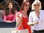 New bestie alert! RHOBH co-stars Kyle Richards and Yolanda Foster bond over mani-pedis after forming an alliance against adversary Lisa Vanderpump