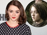 A Stark contrast! Girlie Maisie Williams looks nothing like tomboy Game Of Thrones character Arya at fan event in New York