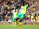 T time! Alex Tetley's long-distance goal gave Norwich a 2-0 lead
