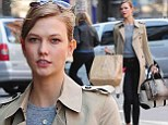Bag lady! Karlie Kloss does not have enough hands... but does have plenty of style as she runs errands around New York