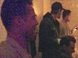 He's with the band! Brad Pitt parties late into the night with the Kings Of Leon at  official afterparty following their LA show