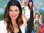 Mommy and me! Ali Landry and her daughter Estela Ines made an adorable mother daughter duo at the premiere of The Pirate Fairy in Burbank in Los Angeles on Saturday