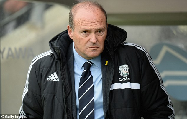 All to play for: West Brom manager Pepe Mel says the club's fate is still in their own hands