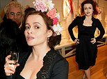 Actress Helena Bonham Carter attends the HIGH London flagship store launch