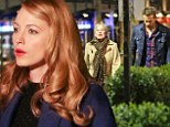 So close yet so far: The 26-year-old actress was in the midst of filming for her upcoming movie, The Age Of Adaline, while less than a mile away, the 37-year-old actor took his mother, Tammy, to dinner