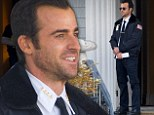 An officer and a gentleman! Justin Theroux gets to work on new series The Leftovers amid reports he and Jennifer Aniston 'plan to elope this spring'