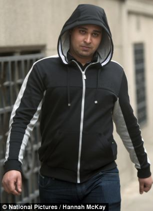 Amarjit Talafair, pictured, gave evidence at the Old Bailey