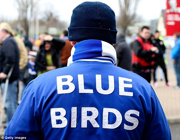 History: One Cardiff fan reminds the club of Cardiff's 100-year tradition of being called the Bluebirds