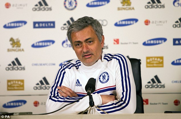 Special one: The Chelsea boss says he can feel the differences in the way he is treated all the time