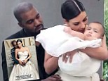 Baby's first Vogue shoot! Behind the scenes video reveals North West joins parents Kim Kardashian and Kanye West in fashion bible
