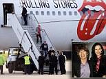 Stones arrive back in UK