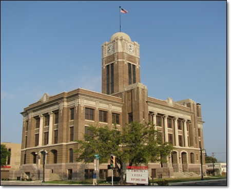 Johnson County Courthouse - Home of Philip Nolan Research Center