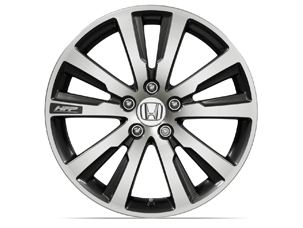 2014 Honda Civic Accessories - 18-in HFP Diamond-Cut Alloy Wheel with Tires