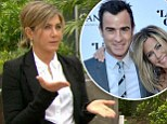 'He's a beauty product thief!' Jennifer Aniston opens up about Justin Theroux's softer side