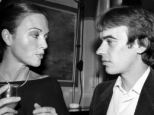 Insult: Anna Ford called Martin Amis 'a whingeing narcissist' (pictured together in 1983)
