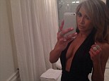 Is she for real? Naya Rivera reveals her ample chest in racy selfie