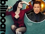 'I've only benefitted from it': Idina Menzel dazzles on the cover of Billboard magazine as she reveals she and John Travolta are now 'buddies' following THAT Oscars flub