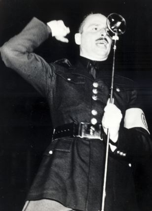 Sir Oswald Mosley was the charismatic founder of the British Union of Fascists
