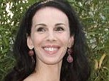Moving: A coffin carrying the body of L'Wren Scott, pictured, was reportedly moved Sunday from a Manhattan funeral home to be flown to Los Angeles
