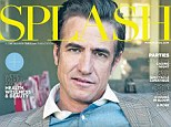 Cover boy: Dermot Mulroney, 50, is on the cover of the latest issue of Chicago Sun-Times Sunday magazine SPLASH and discussed how he got his facial scar