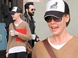 Back in business! Katherine Heigl dresses down in trucker hat and leggings while with family as she plans television comeback