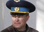 Colonel Yuliy Mamchur, the commander of a Ukrainian air base