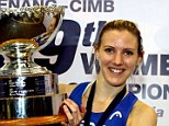 Champion: Laura Massaro clinched the Women's World Championship in Malaysia