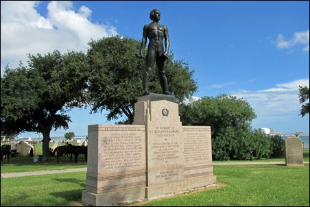 Dick Dowling Statue - Sabine Pass