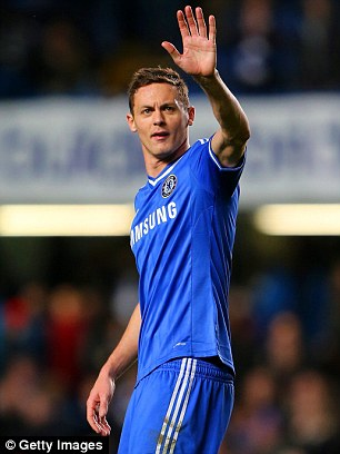 Back in town: Chelsea re-signed Nemanja Matic