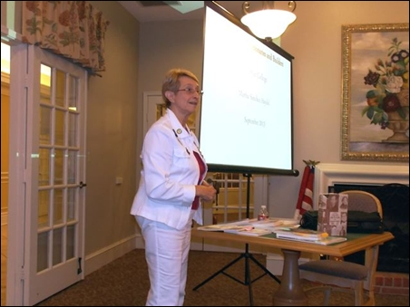 Martha Haydel Makes History Presentation
