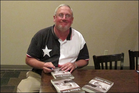 Sabine Pass Historian Ed Cotham Signs Books for THS