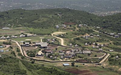 President Jacob Zuma's  Nkandla homestead in KwaZulu-Natal in November 2013. Picture: SUNDAY TIMES
