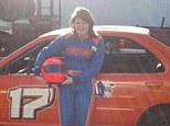Tragic: Niokoa Johnson, 15, pictured with her car, died driving on the vehicle on a track for the first time