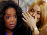 Sage advice: Oprah Windrey told Lindsay to focus on her spirituality and to keep her commitments on Sunday night's episode of Lindsay on OWN