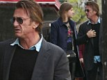 Another day, another date: Sean Penn dines out with Parisian actress in the City of Love for the second day running