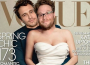 James Franco and Seth Rogen Spoof Kanye and Kim Kardashian's Vogue Cover (Photo)