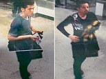 Pictures released of two men who boarded Flight 370 without passports appear to have been tampered with as they appear to have the same set of legs