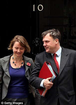 Couple: Yvette Cooper and Ed Balls were the first married couple in the Cabinet