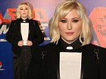 Vicar-torious: Hayley Hasselhoff puts her best foot forward at The Lego Movie premiere in Sydney on Sunday