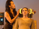 """This photo released by Summit Entertainment, LLC shows Maggie Q, left, as Tori and Shailene Woodley as Beatrice """"Tris"""" Prior, in the film, """"Divergent."""" The f..."""
