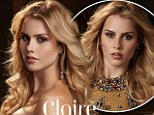 Smouldering: Australian actress Clair Holt poses for a sultry photo shoot with a US magazine after announcing she won't be returning to The Originals